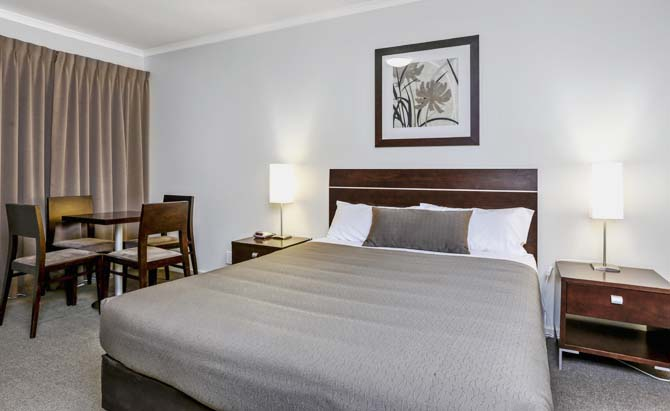 Our rooms offer a relaxed environment to unwind and relax at Elm Tree Motel - Warrnambool Vic